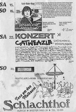 1989-04-22 Schlachthof, Aurich GER