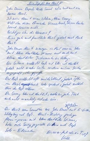 1989 Catweazle vs John Denver 1-1