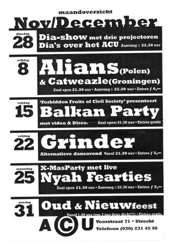 1995-12-08 ACU, Utrecht