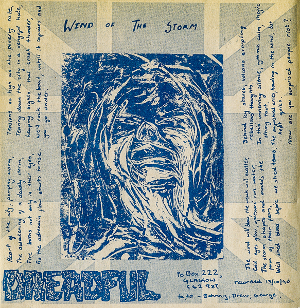 1991 Dreadful EP insert-1