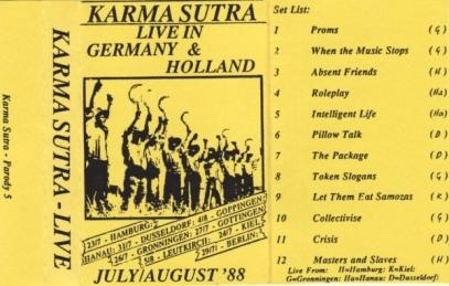 Karma Sutra Tape