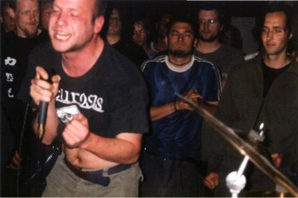 Crowd: René, Eelco, Daan, Manuel