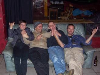 Taryn, Richard, Karol, Shantia