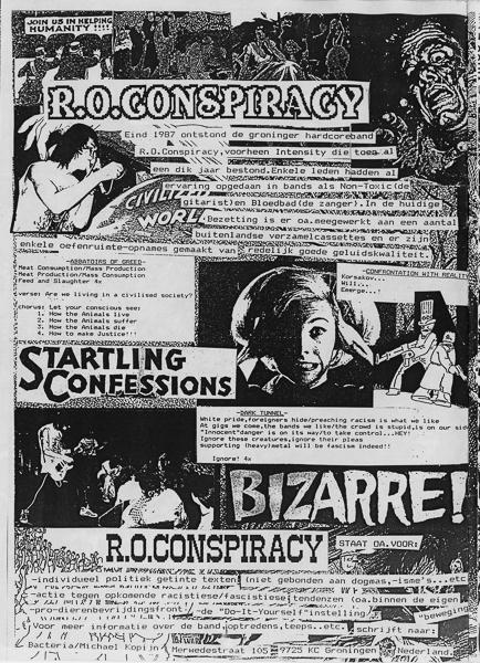 R O Conspiracy | Bacteria